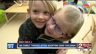 Happy Hands helping BA family with deaf children - Video