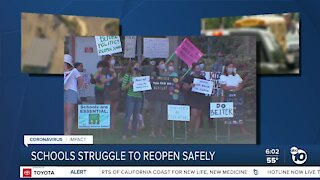 Parents to rally in favor of reopening SD Unified schools