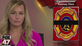 Lansing Fire Commissioner passes away at 70 - Video