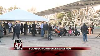 Spartan solar project is biggest in the country - Video