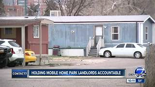 Thornton mobile home owner's fears reflect national crisis - Video
