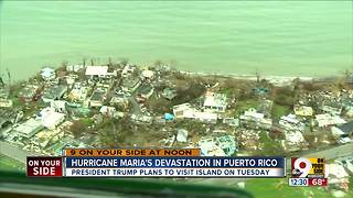 Hurricane Maria's devastation - Video