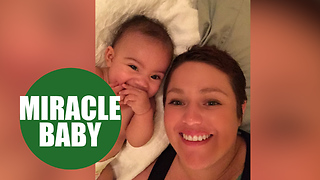 Mother who learned she was pregnant four days after breast cancer diagnosis - Video