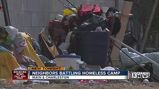 Fighting back against homeless encampments in Las Vegas - Video