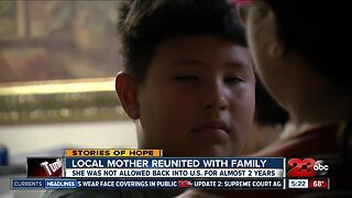 Local mother reunited with family