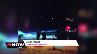 Two people shot by police in Lakemore officer-involved shooting - Video