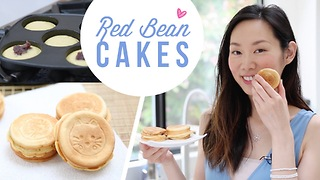 How to make red bean cakes - Video