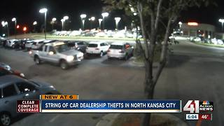 Car dealers frustrated after string of thefts - Video