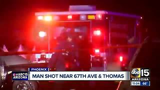 Man seriously hurt after shooting in Phoenix - Video
