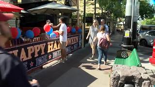 Homecoming business boom for restaurants near UA - Video