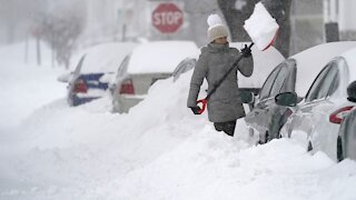 Massive Snowstorm Buries Parts of The Northeast
