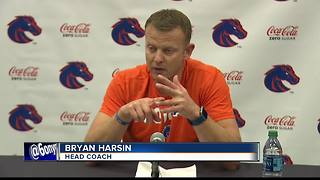 Harsin pleased with the Running Backs effort - Video