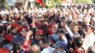 Protests Continue Against Government in Armenian Capital - Video