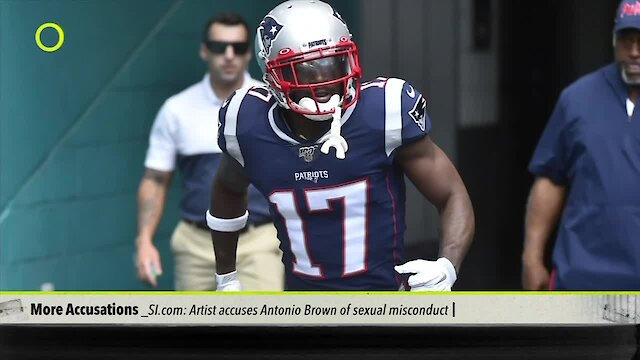 Nike severs ties with New England WR Antonio Brown