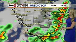 FORECAST: Wet weather to start the work week - Video
