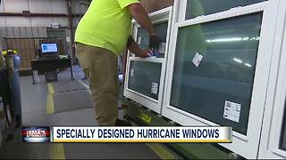 Truckloads of Hurricane Impact windows coming Florida