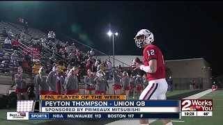 Player of the Week: Peyton Thompson