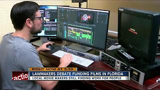 Lawmakers debate funding films in Florida - Video