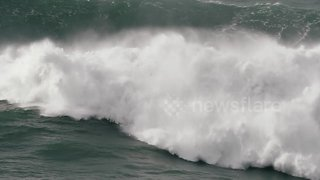 Brazilian big wave surfer in terrifying wipeout in Nazare, Portugal