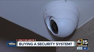Let Joe Know: Advice before buying a home security system - Video