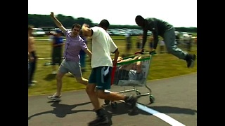 Shopping Cart Racing World Championships - Video