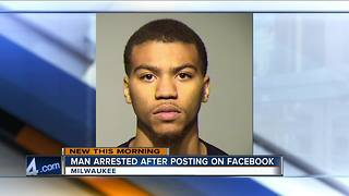 Facebook Live video leads Milwaukee Police to drug dealing arrest - Video