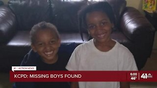 2 missing boys from KCMO found safe