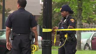 Two teens shot in drive-by shooting in Cleveland - Video