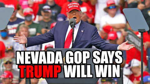 Nevada GOP Says TRUMP WILL WIN the Election