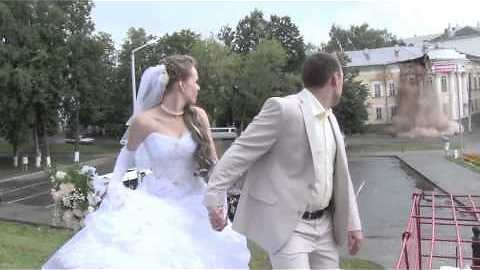 Wedding Interrupted by Building Collapse!