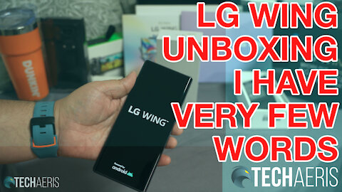 LG Wing Unboxing and at a loss for words :-O