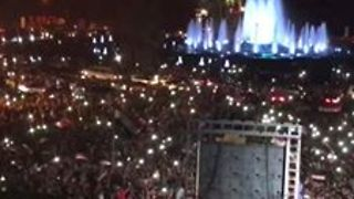 Celebrations in Damascus as Syria Progress to World Cup Playoff - Video