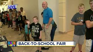 Back to School events draw large crowds - Video