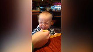 Baby's First Taste of Lemon - Video