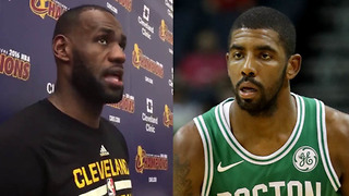 LeBron James Reveals What the Cavs Will Do for Kyrie Irving's Return to Cleveland - Video