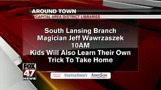 Around Town 8/8/17: Capital Area District Libraries - Video