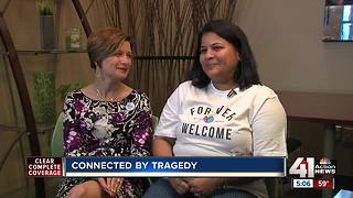 Two women connected by tragedy - Video