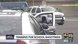 Training for school threats in the Valley - Video