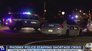 Staffing change within Phoenix Police Department's vice squad - Video