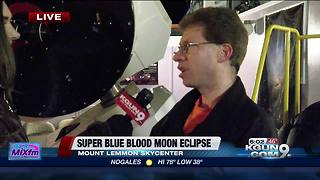Rare super blue blood moon appearing Wednesday - Video