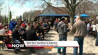 Estabrook Park named one of the best beer gardens in the U.S. - Video