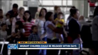 Migrant children could soon be released from U.S. custody - Video