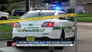 Police search for shooter in double homicide in St. Pete - Video
