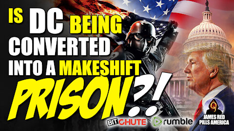 Umm, WOW! Is DC Being Converted Into a MAKE-SHIFT PRISON?! Draining The SWAMP Before Our Very Eyes!
