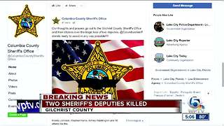 Deputies killed - Video