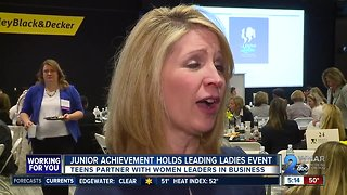 Junior Achievement's Leading Ladies program holds 5th annual event