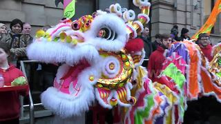 Chinese New Year celebrations kick off in Perth, Scotland - Video