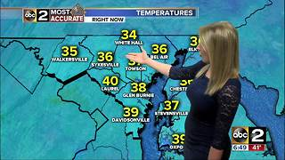 Maryland's Most Accurate Forecast - Milder Air - Video
