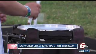 The Crispus Attucks marching band prepares for DCI World Championships - Video