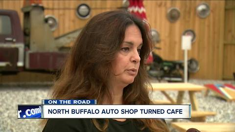 On the Road: North Buffalo at The Garage Cafe